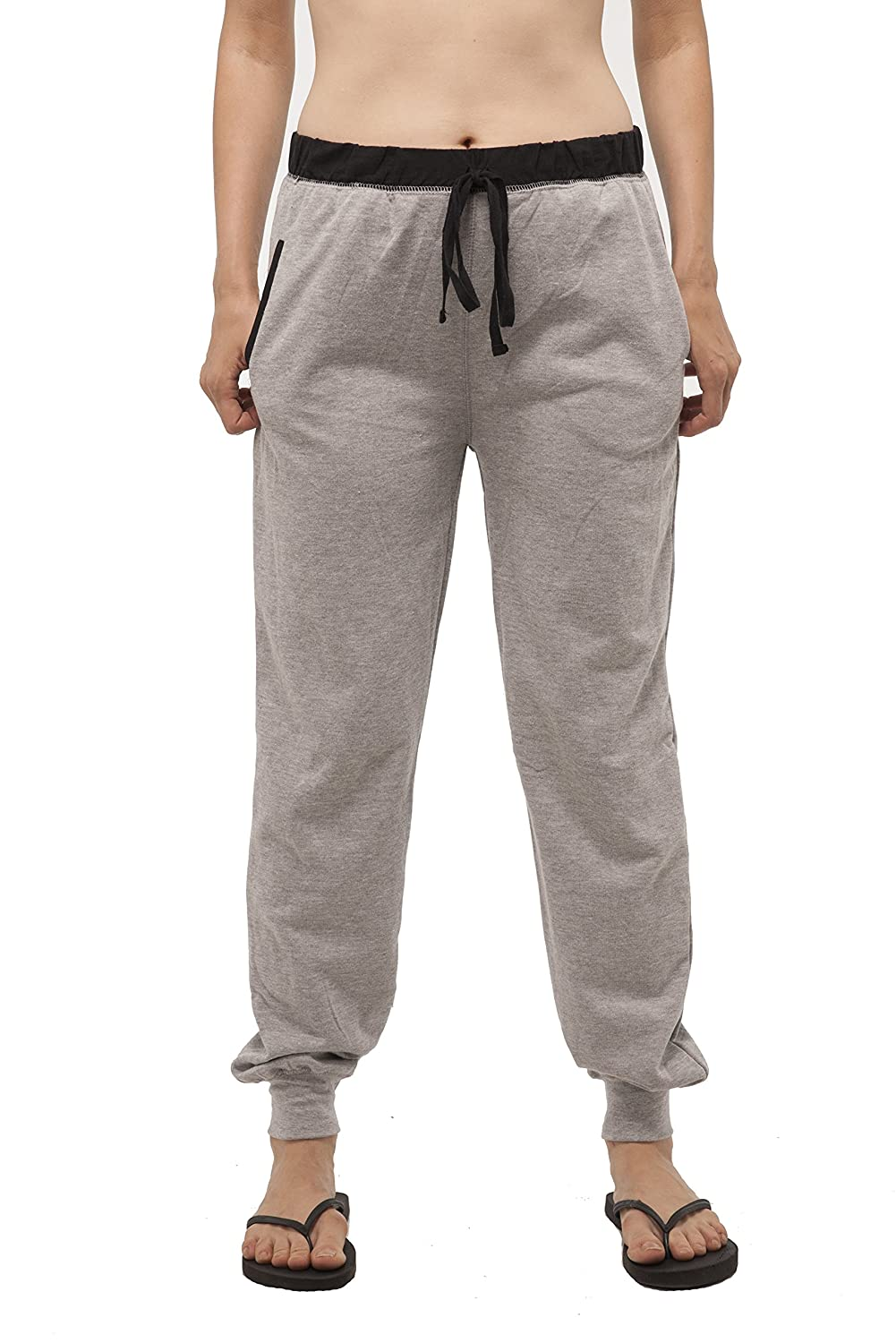 Hollywood Star Fashion Full length french terry jogger with front pockets
