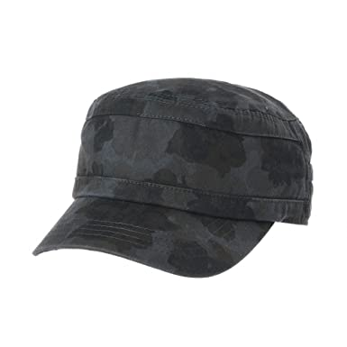 WITHMOONS Cadet Cap Floral Camouflage US Army Patch Military Hat CR4641  (Grey) 846ca9d862a0