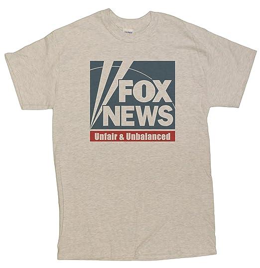 2c4862b8b9a42 Amazon.com: Men's Funny Fox News Parody T-Shirt: Clothing