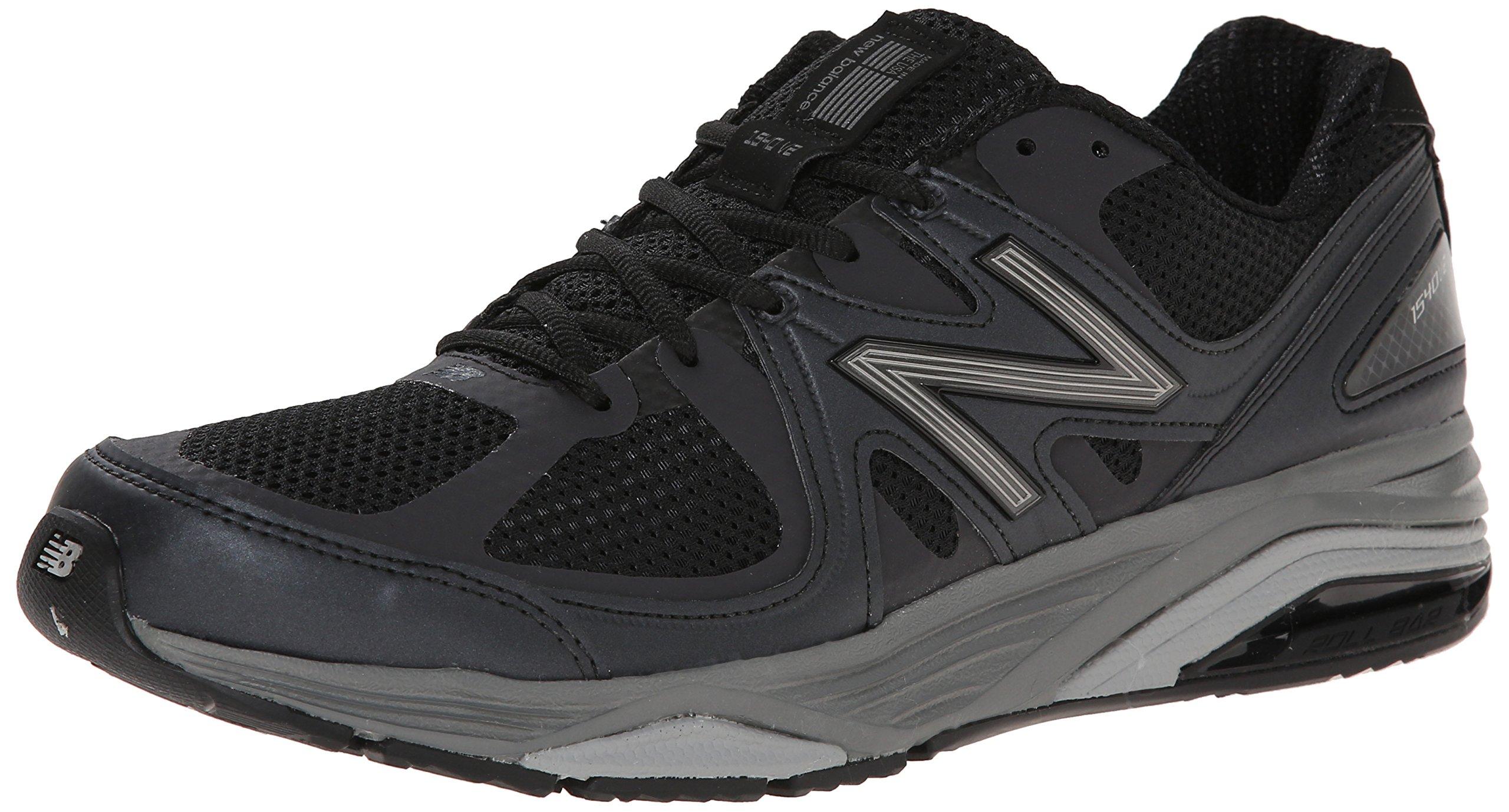New Balance Men's M1540V2 Running Shoe, Black, 13 4E US