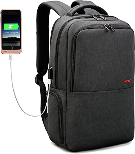 EDLUX Business Anti Theft Slim Durable Travel Laptop Notebook Backpack Fit 15.6/""