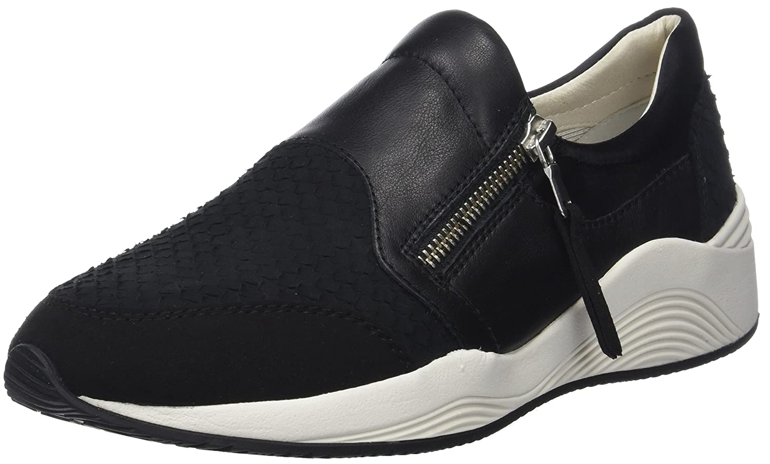 Black Geox Women's D OMAYA Sneakers