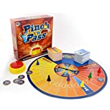 Ginger Fox Pinch 'N' Pass Family Board Game - How Many Actors, Pizza Toppings Can You Name Under Pressure - Tense Game