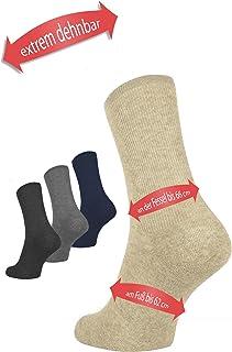 mosermed estremamente elastico calze fino a 66 cm Circonferenza caviglia – caviglie, Gesso, Diabetici Calzini