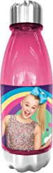 Jojo Siwa Tritan Bottle with Stainless Steel Cap & Lid 500ml - Drinkware Water Bottle for