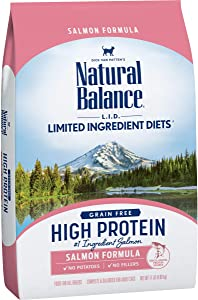 Natural Balance L.I.D. Limited Ingredient Diets High Protein Dry Cat Food, Grain Free