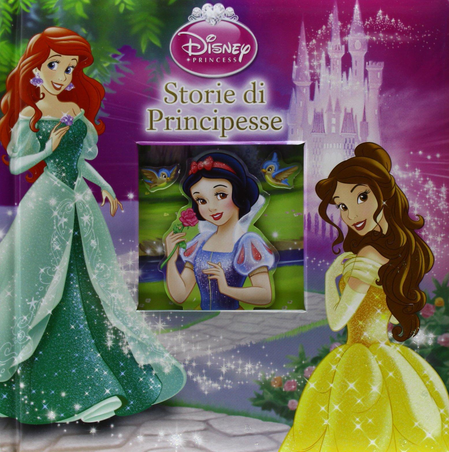 Ben noto Amazon.it: Storie di principesse. Disney princess - - Libri HJ59
