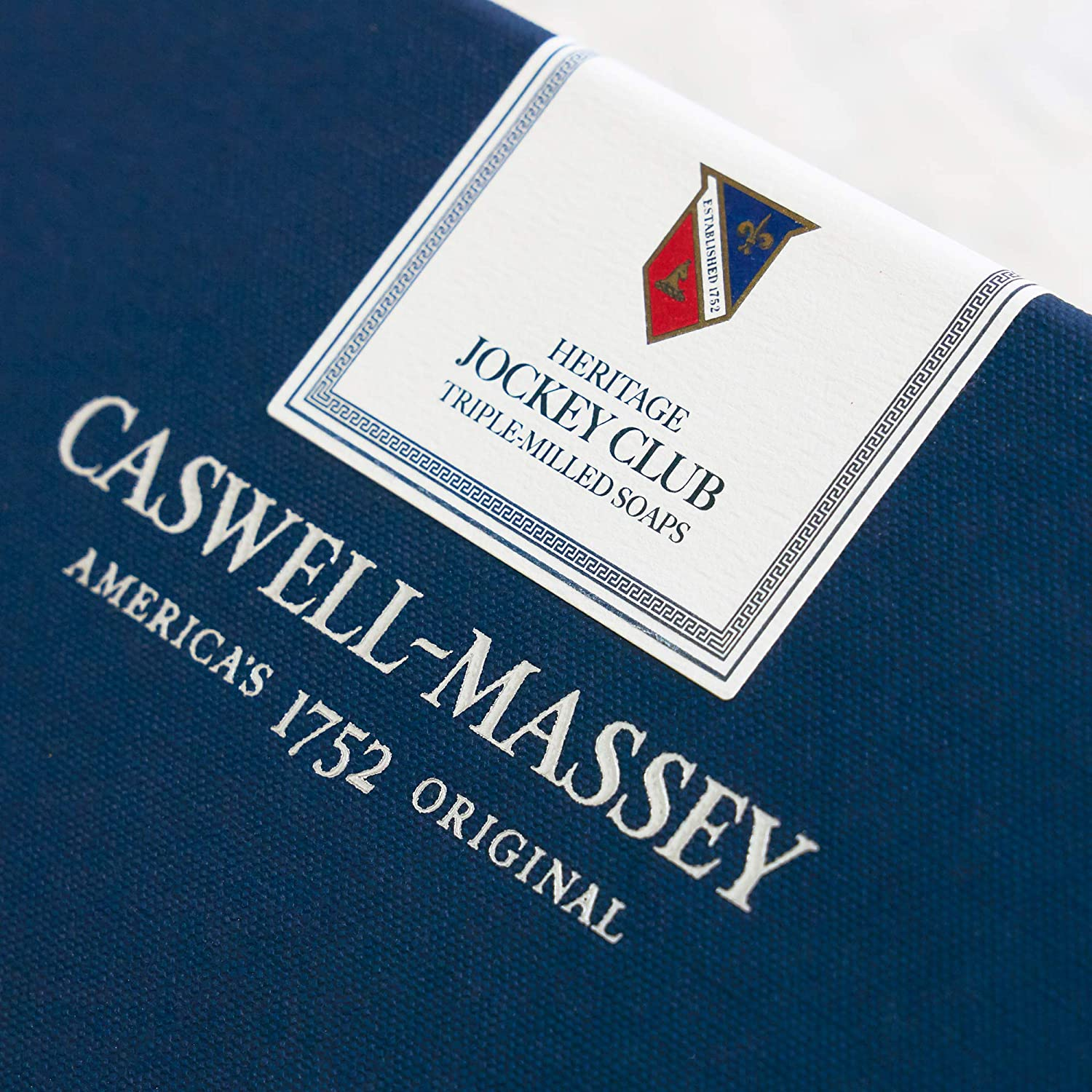 Amazon.com : Caswell-Massey Triple Milled Luxury Bath Soap Set - Jockey Club - 5.8 Ounces Each, 3 Bars : Beauty