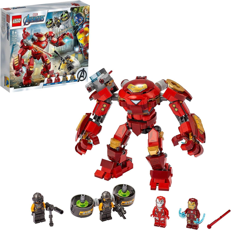 LEGO Marvel Avengers CLAS Vengadores Hulkbuster de Iron Man vs. Agente de A.I.M, Figura de Acción, Multicolor (76164)