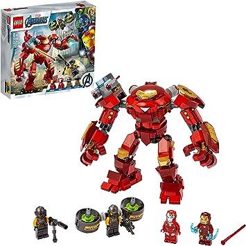 Oferta amazon: LEGO Marvel Avengers CLAS Vengadores Hulkbuster de Iron Man vs. Agente de A.I.M, Figura de Acción, Multicolor (76164)