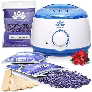 Amazon wax warmer waxing kit hair removal wax kit hard wax warmer waxing kit hair removal wax kit hard wax beans hot solutioingenieria Gallery