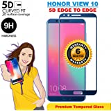 Honor View 10 Blue Original 5D Full Glue Tempered Glass Full Edge-to-Edge Screen Protection