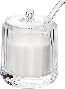 Sugar Canister, Kitchen Canisters, Plastic Kitchen Storage Container, Sugar Serving Spoon & Sugar Bowl, Sugar Dispenser