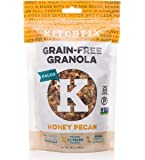 Kitchfix Grain-Free Paleo Granola | Vegan Plant-based protein from nuts and seeds | Certified gluten-free | Low sugar, low carb granola | Roasted in pure coconut oil | Honey Pecan 10oz