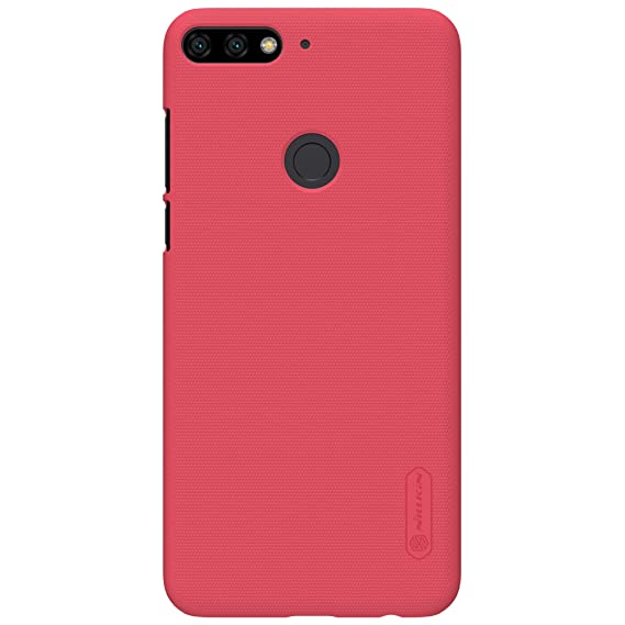 sito affidabile 7f0b5 402b2 for Huawei Y7 Prime 2018 Case,Nillkin [with Screen Protector] Frosted  Shield Anti Fingerprints Hard PC Case Back Cover for Huawei Y7 Prime 2018  ...