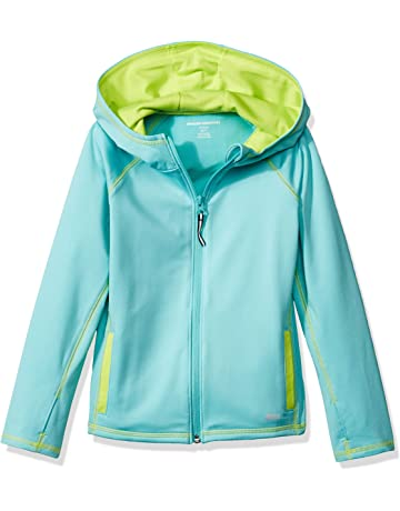 57c347d98 Amazon Essentials Girls' Full-Zip Active Jacket