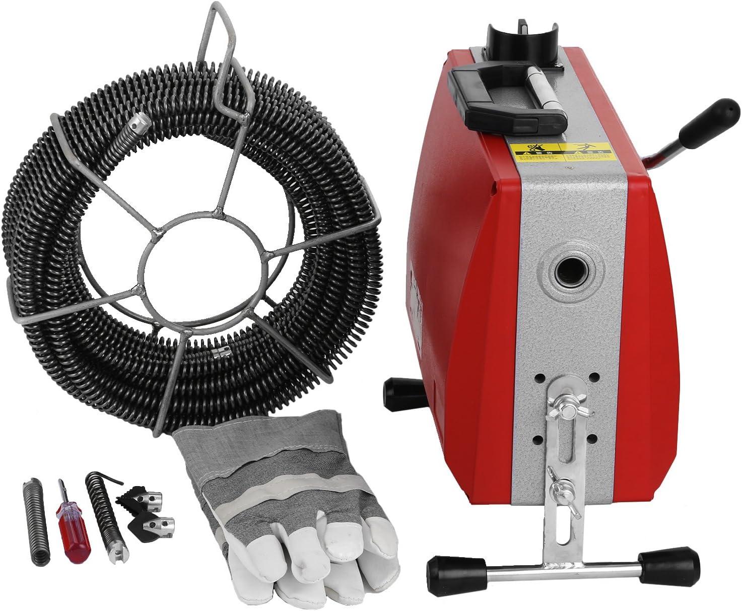 400 Watt Elektrische Rohrreinigung Rohrreinigungsmaschine Rohrreinigungsgerät DE