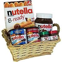 Coffret Cadeau de Noël avec Ferrero Nutella (avec 6 pièces)