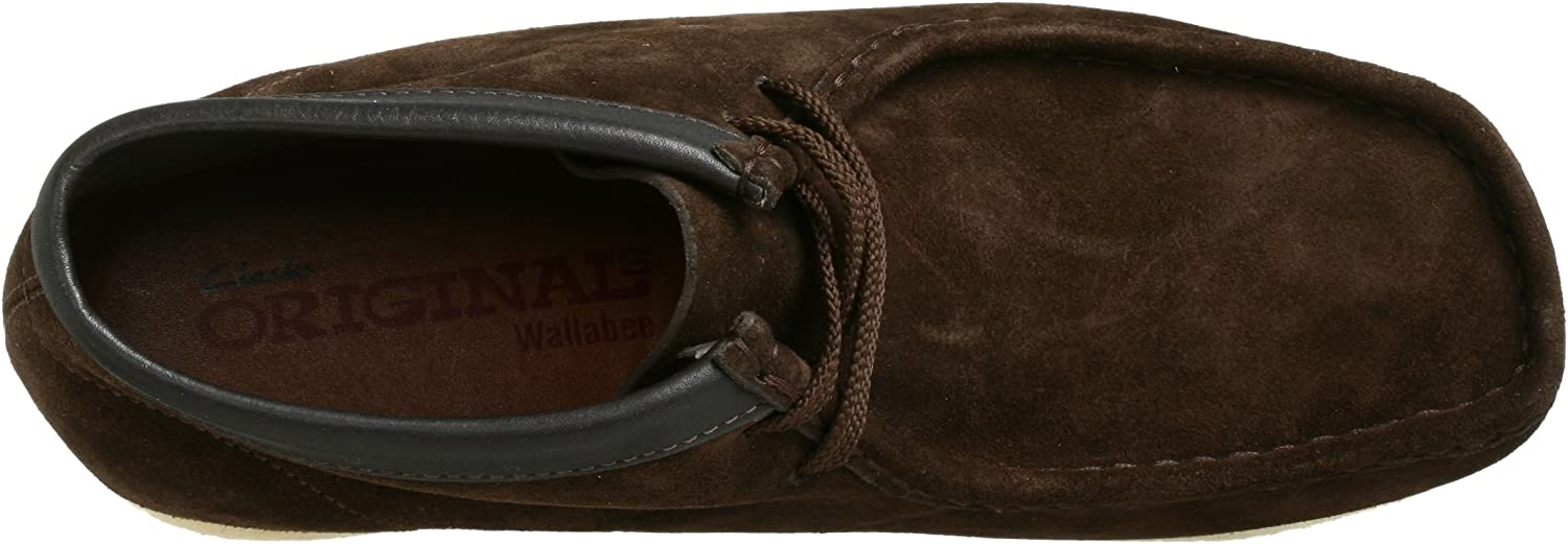 Clarks Originals Wallabee Boot Camoscio Marrone