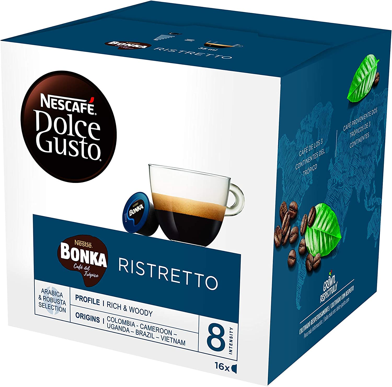 NESCAFÉ Dolce Gusto Café BONKA, Pack de 3 x 16 Cápsulas - Total ...