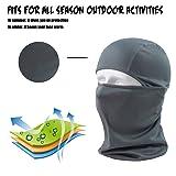 hikevalley Balaclava Face Mask Adjustable Windproof UV Protection Hood