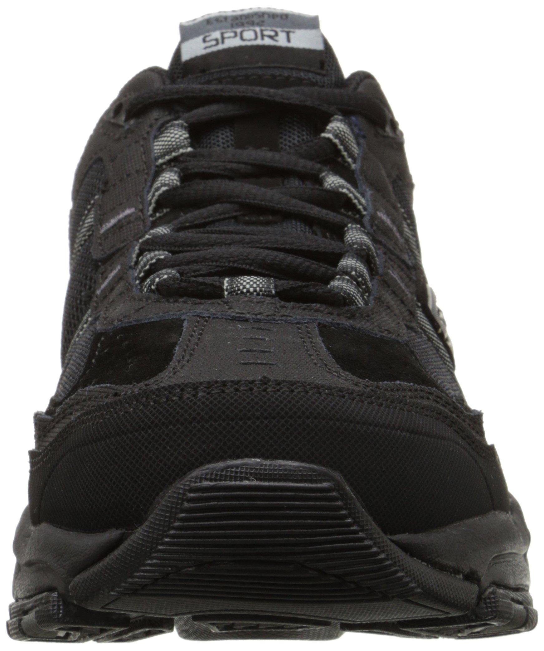 Skechers Sport Men's Vigor 2.0 Trait Memory Foam Sneaker, Black, 12 M US by Skechers (Image #4)