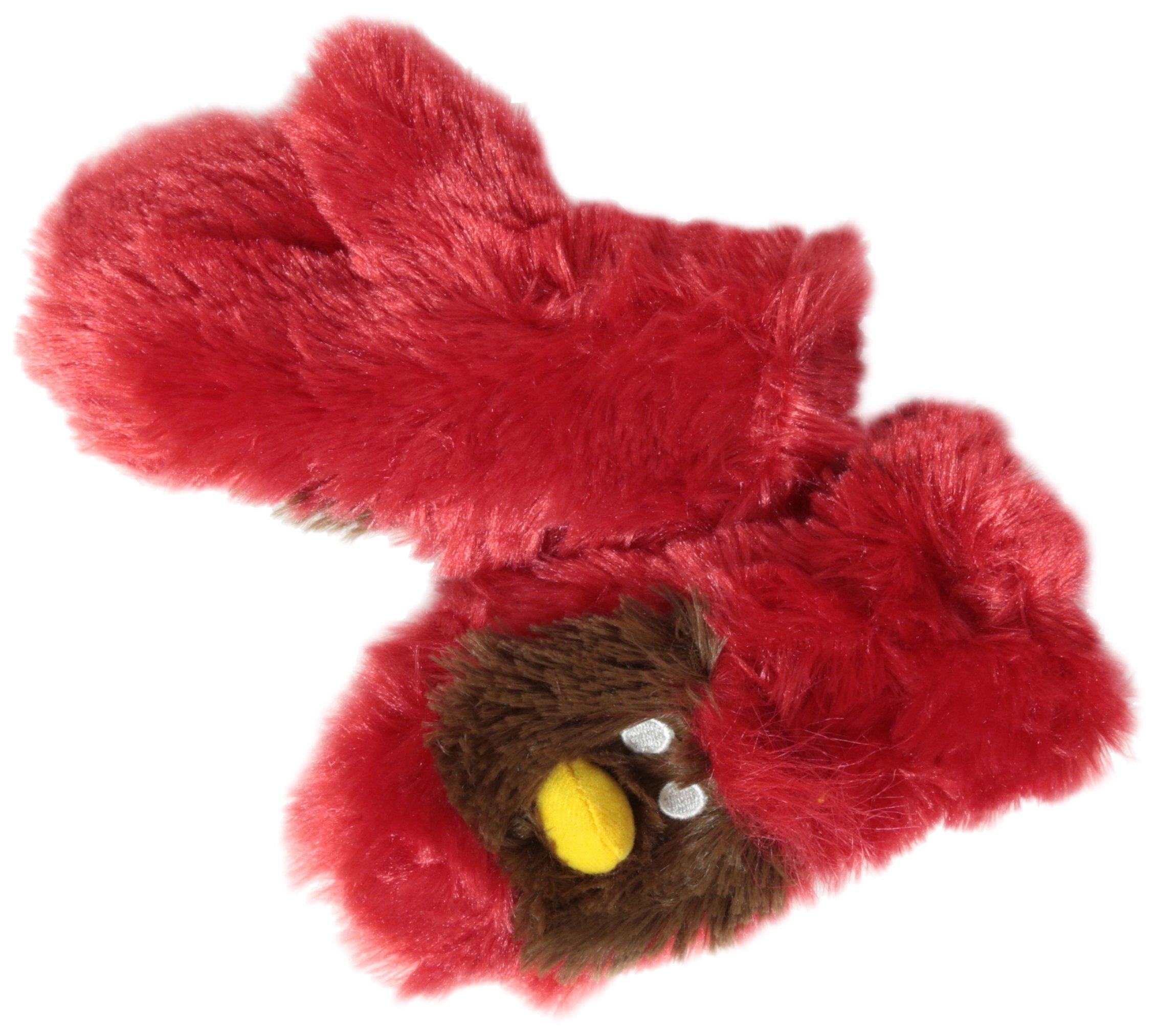 Hatley Little Boys' Fuzzy Fleece Mittens-Cardinal, Red, Small