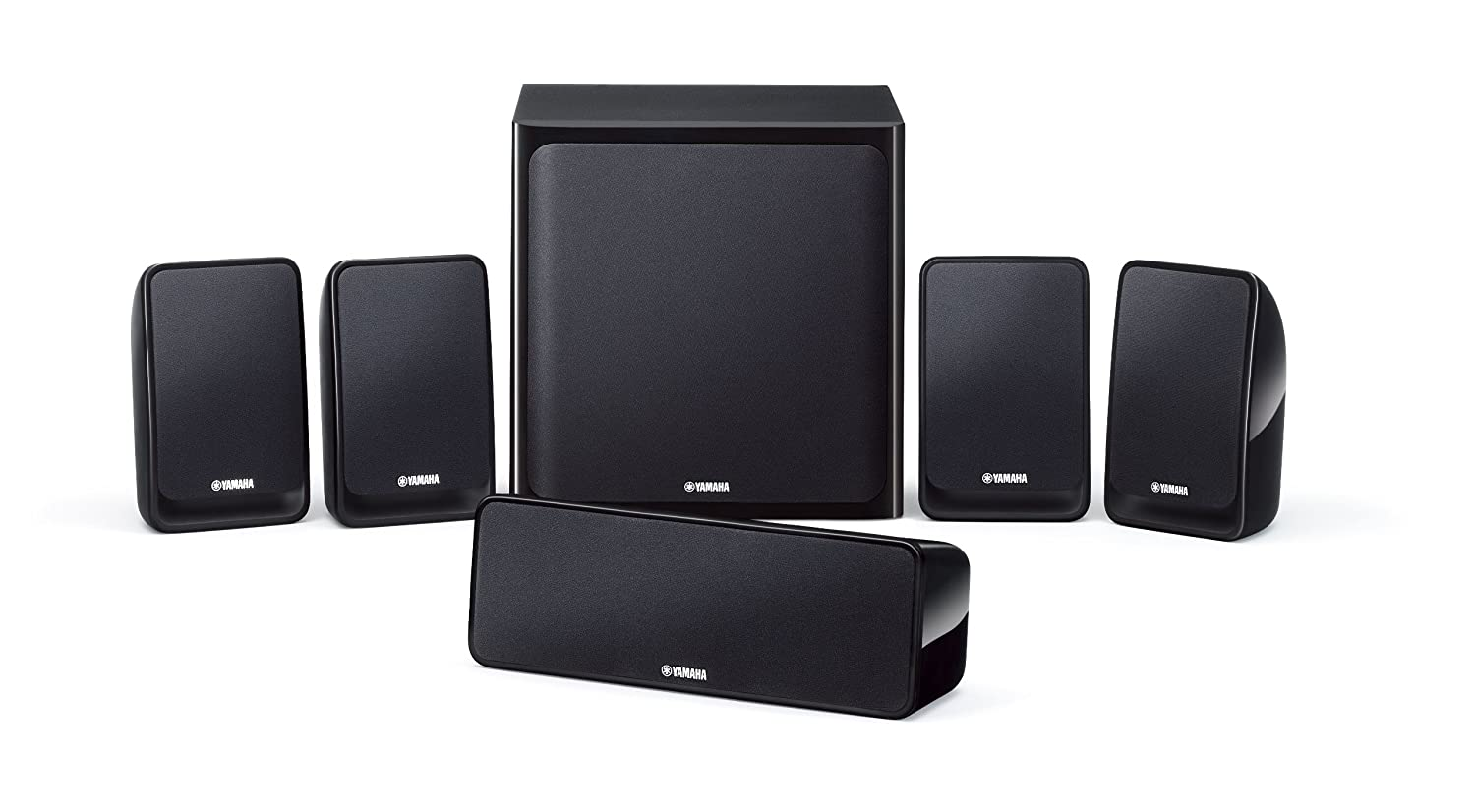 Yamaha NSP-20 - Equipo de altavoces (400W, 5.1), negro