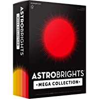 """Astrobrights Mega Collection, Colored Paper,""""Sunny"""" 5-Color Assortment, 625 Sheets, 24 lb/89 gsm, 8.5"""" x 11"""" - MORE…"""