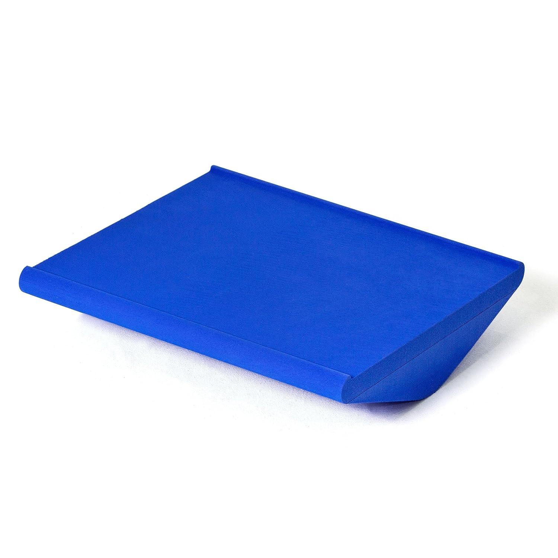 SoftX Balance Trainingsgerät Koordinationswippe Pro, blau, für Airex Balance Pad, ca. 50 x 45 x 10  cm