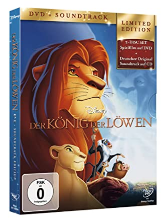 Der König der Löwen (+ Audio-CD) [Alemania] [DVD]: Amazon.es: Chris Sanders, Julius Jellinek, Rowan Atkinson, Ivan Bilancio, Don Hahn, Brian Chavanne, ...