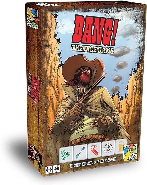 Bang! - Dice Game Giochi Merchandising Ufficiale: Amazon.es: Juguetes y juegos