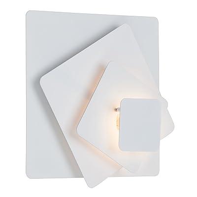 Brilliant G94138/05 Kary Applique/plafonnier 1 ampoule halogène G9 33W incluse Blanc