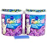 Bundle:Pillsbury Frosting with FREE candles (Bold Purple Vanilla)