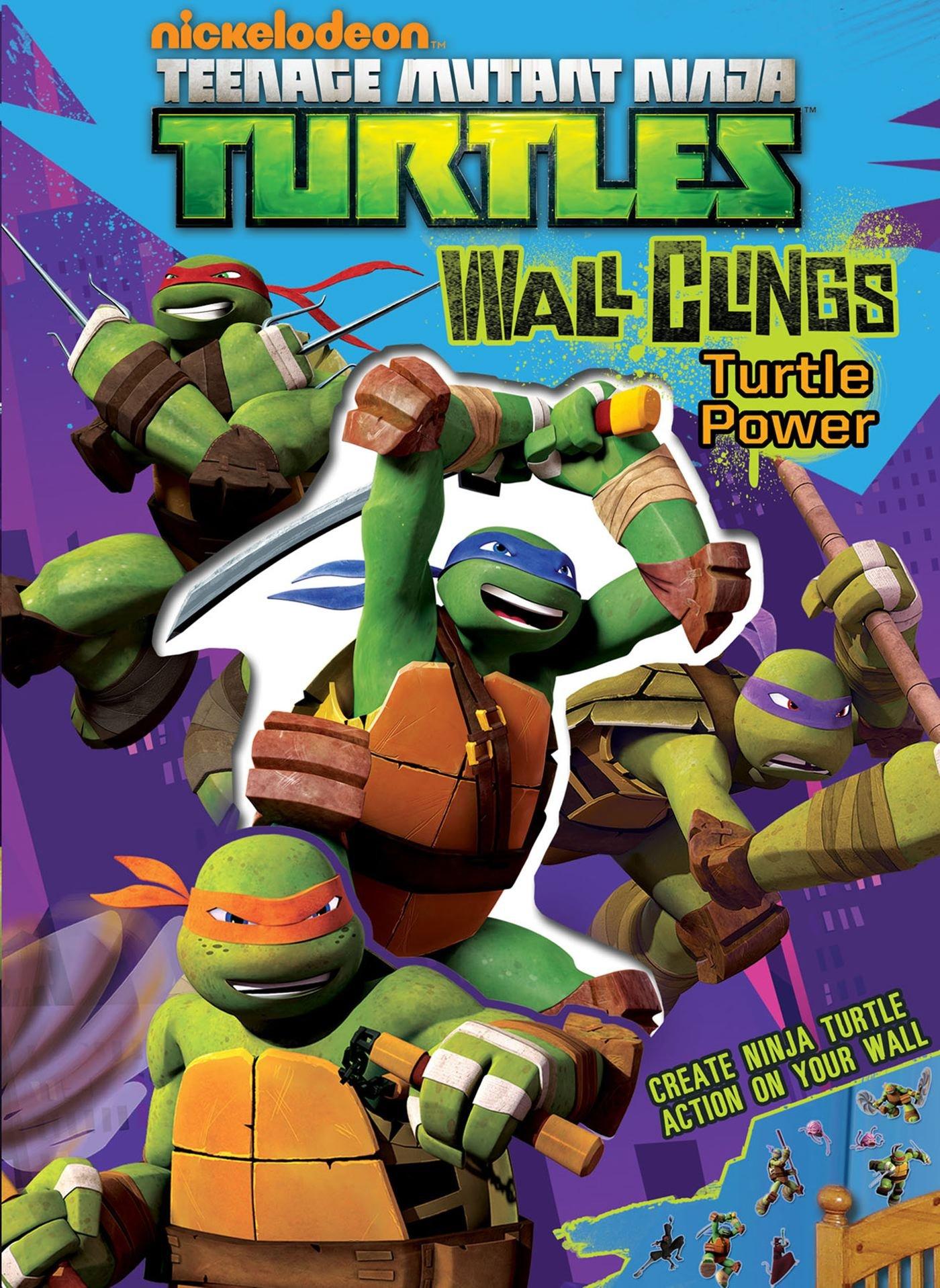 Teenage Mutant Ninja Turtles Wall Clings: Turtle Power ...