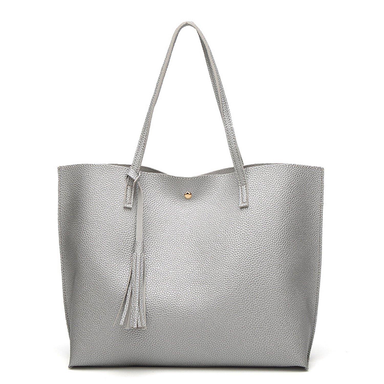 Amazon.com: acereima bolso de piel bolsos bolsas de mujer ...