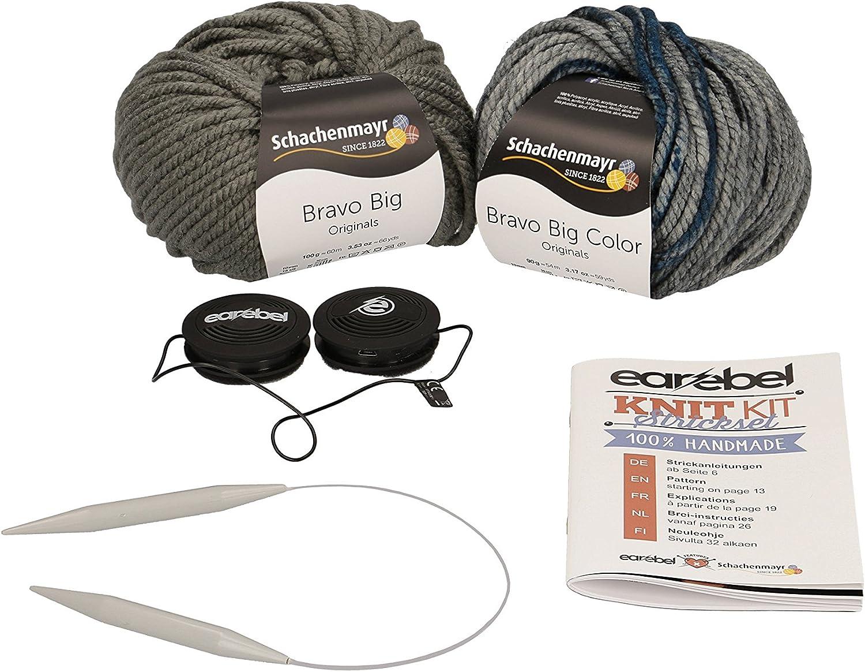 Grey Black Schachenmayr Kit de Tricot 16,5/x 9,3/x 31,5/cm Coton