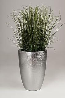 Exclusive Pflanzgefäße pflanzkübel pflanzgefäß bodenvase exklusiv deluxe silber weiß