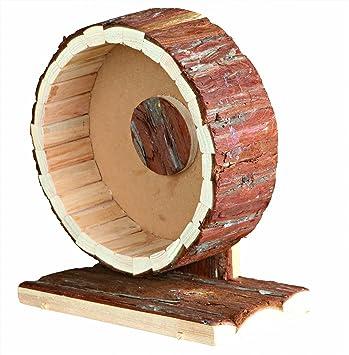 Trixie Natural Living ejercicio rueda, 20 cm de diámetro: Amazon.es: Productos para mascotas