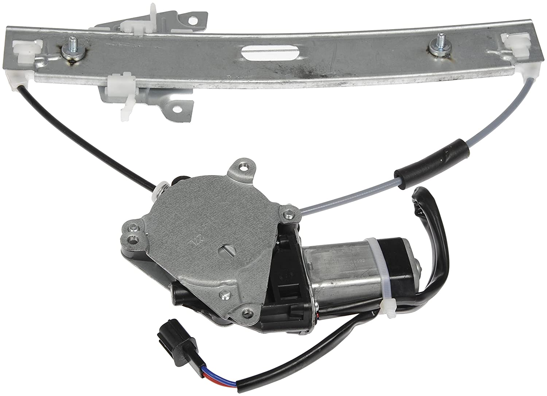 Dorman 748-712 Mazda Tribute Rear Driver Side Power Window Regulator with Motor