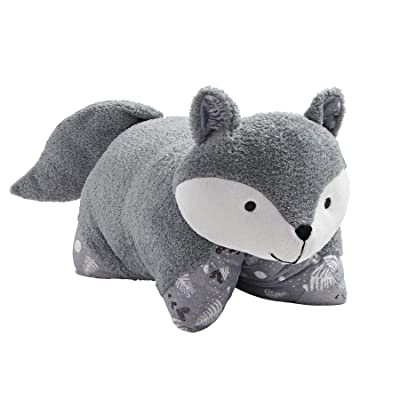 Pillow Pets Naturally Comfy Fox Stuffed Animal Plush Toy: Toys & Games