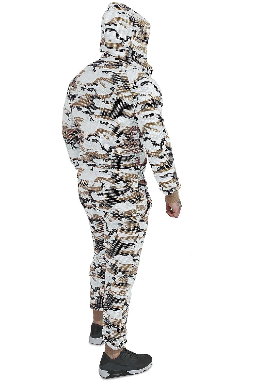 wähle das Neueste Offizielle Website Ruf zuerst Herren Camouflage Militär Sportanzug 6 Trendige Farben ...