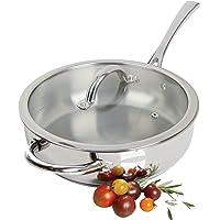 "Oster - Sartén (acero inoxidable), 10"" Saute Pan, 25.4 cm, 1"