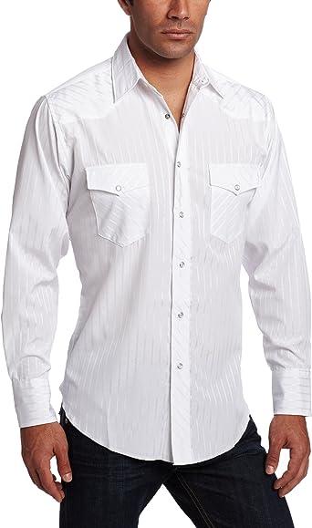 Wrangler - Camiseta deportiva alta para hombre, diseño de rayas Dobby: Amazon.es: Ropa y accesorios