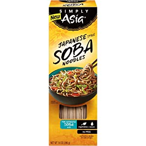 Simply Asia Japanese Style Soba Noodles, 14 oz (Pack of 6)