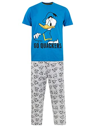 Disney Mens Donald Duck Pyjamas  Amazon.co.uk  Clothing 09df75c97