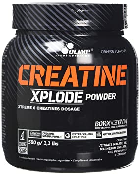 get cheap check out new cheap Olimp Labs Creatine Xplode Powder, Orange Flavour, 500 g ...