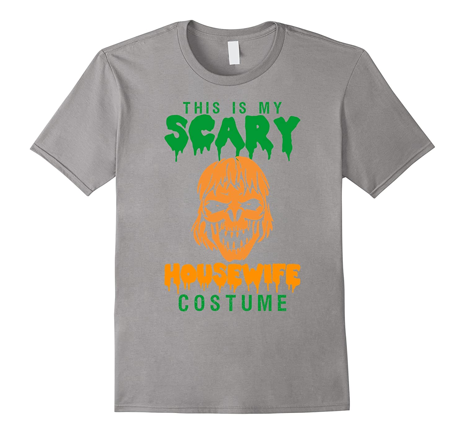 This Is My Scary Housewife Costume Halloween T-Shirt-TD