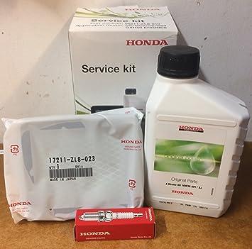 Paquete de Servicio & Mantenimiento Honda. Para Motores GC/GCV 135-160-190 & Podadoras Izy