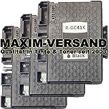 3XXL Gel cartucce per stampanti Ricoh GC 41K NERO/BLACK COMPATIBILE CON Aficio SG 2100N SG 3100Series SG 3100snw SG-3110N SG 3110DN SG 3110DNW SG 3110sfnw SG-3120bsf SG-3120bsfnw SG 7100DN SG 3120bsfn SG K3100DN Set
